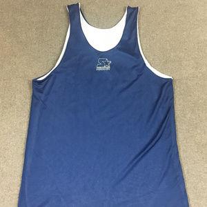 Reversible Basketball Jersey White/Navy Blue